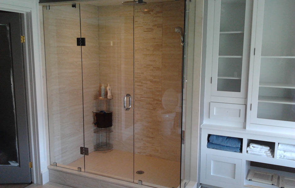 Custom Tempered Glass Shower Enclosures